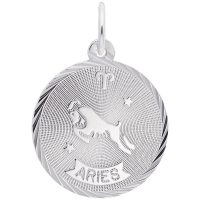 Aries Constellation Disc Charm
