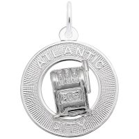 Atlantic City Slot Machine Ring Charm