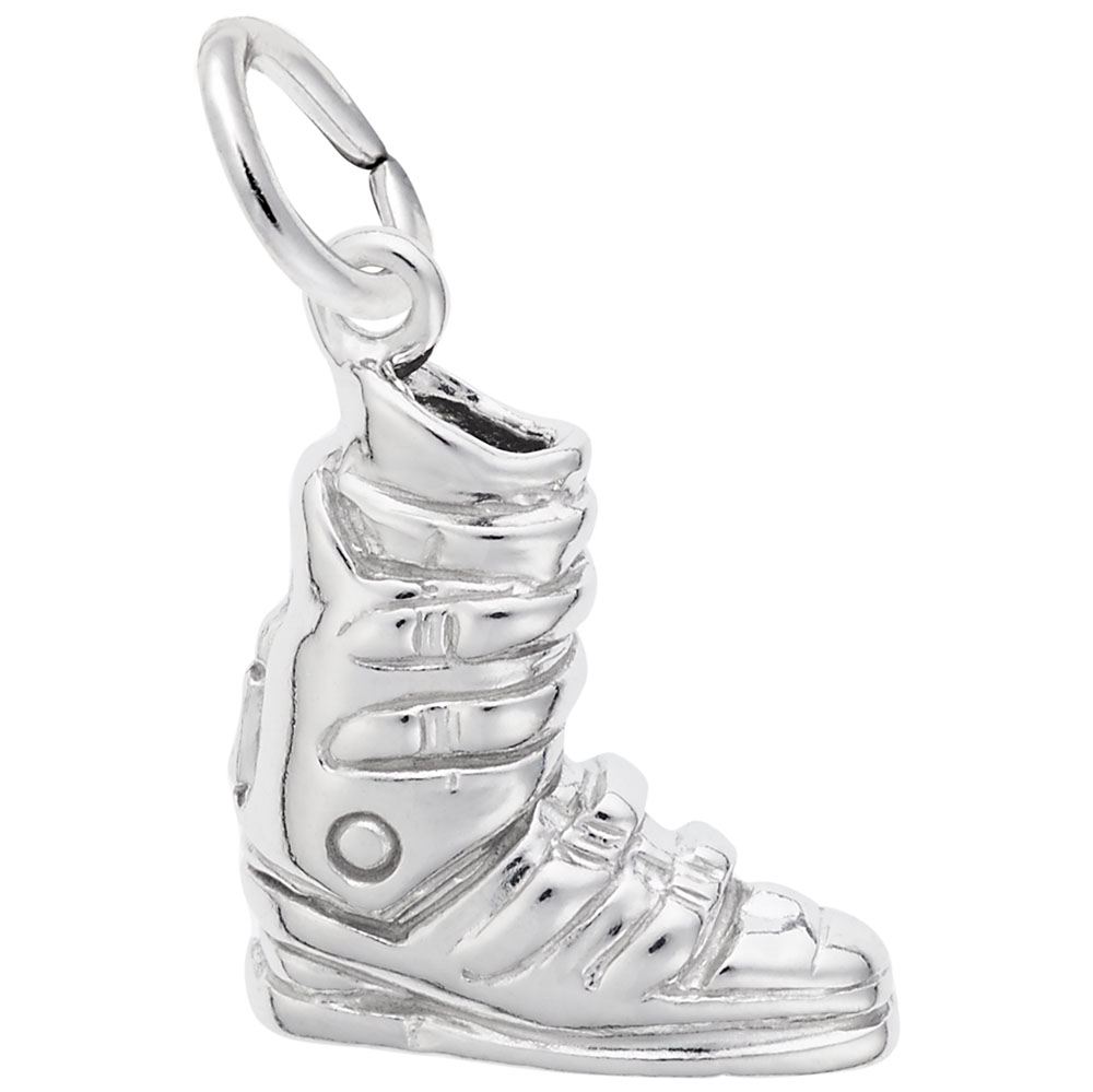 Rembrandt Charms Skiing Charm