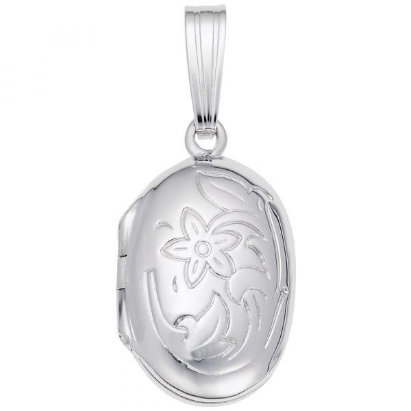 Heart Locket Silver