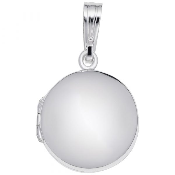 Circle Locket-Silver