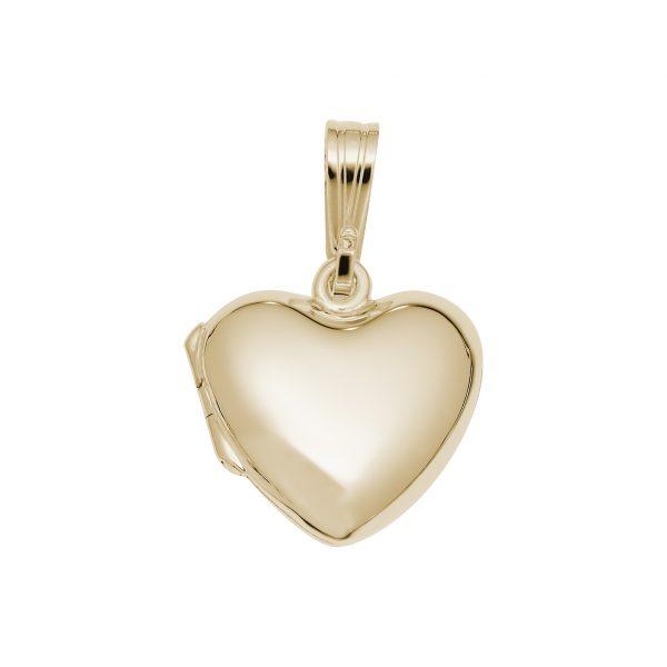 Heart Locket-Gold